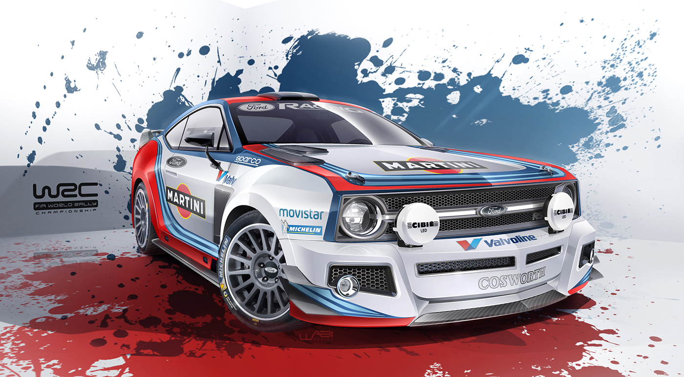 Ford Escort WRC renderings (1)