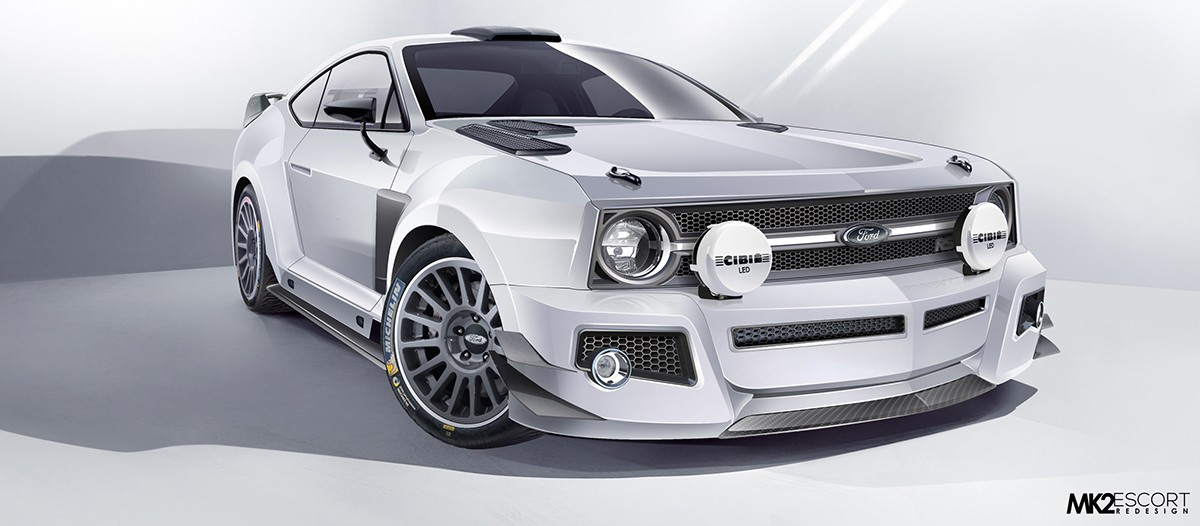 Ford Escort WRC renderings (7)