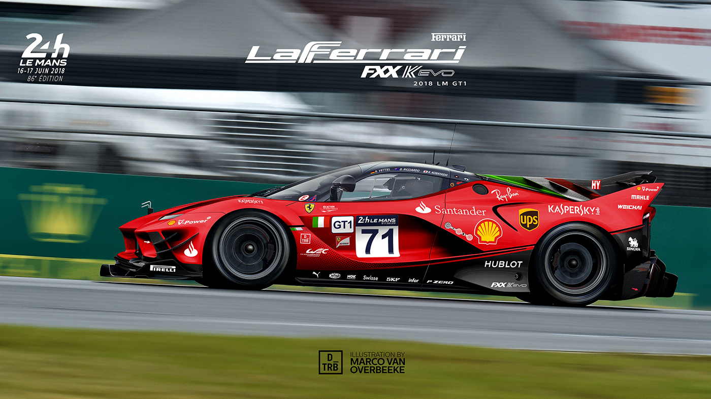 Supercars LMP1 and Ford Escort WRC renderings (10)