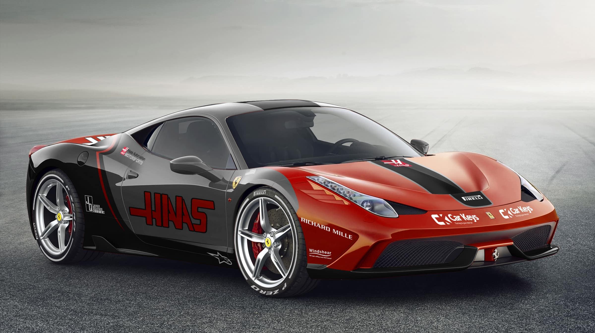 Haas - Ferrari 458 Speciale