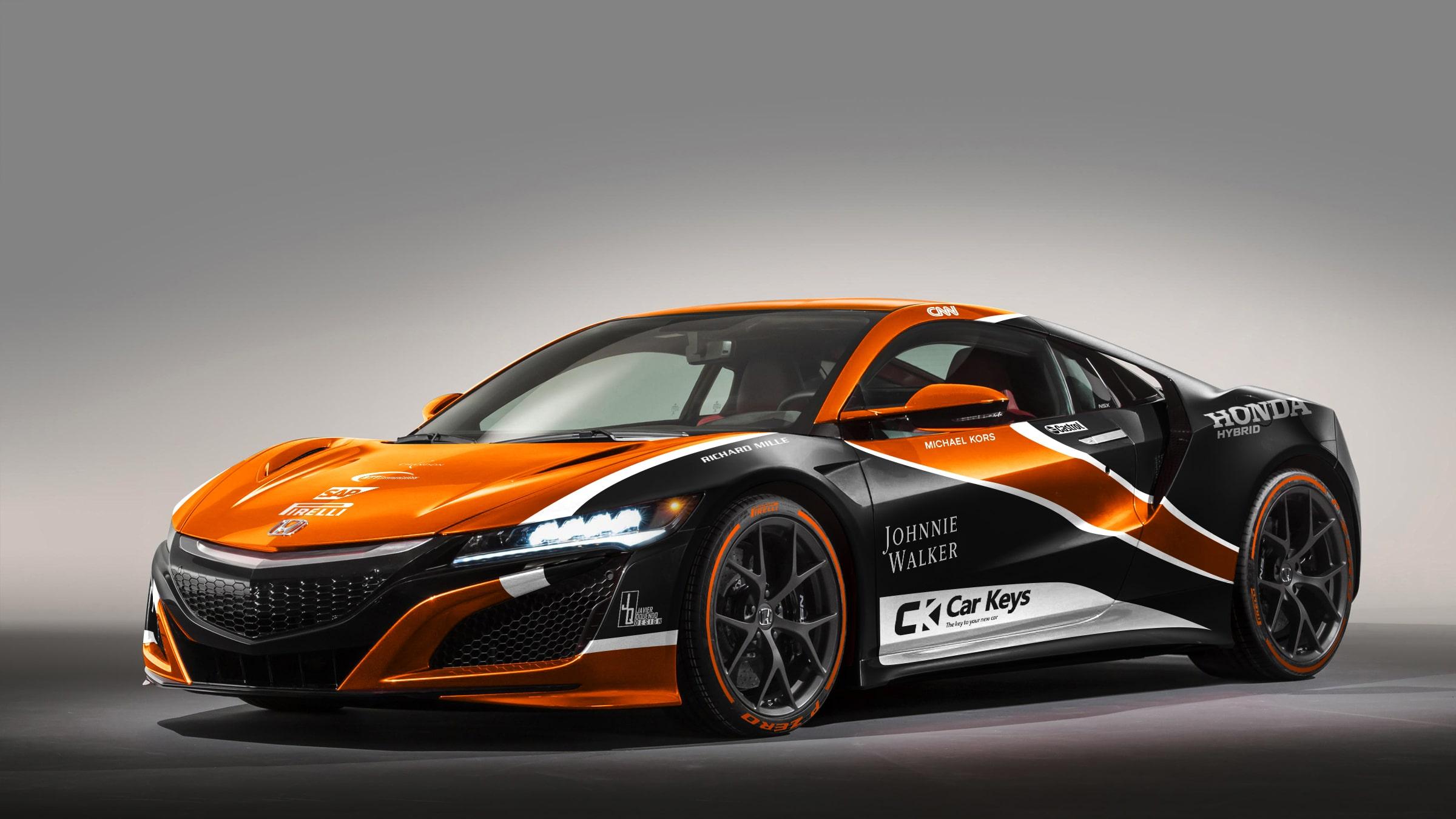 McLaren - Honda NSX