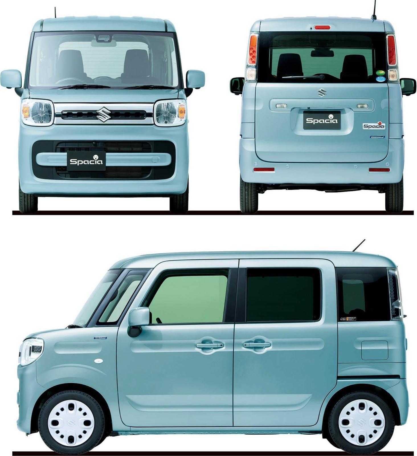 Suzuki Spacia 2018 (16)