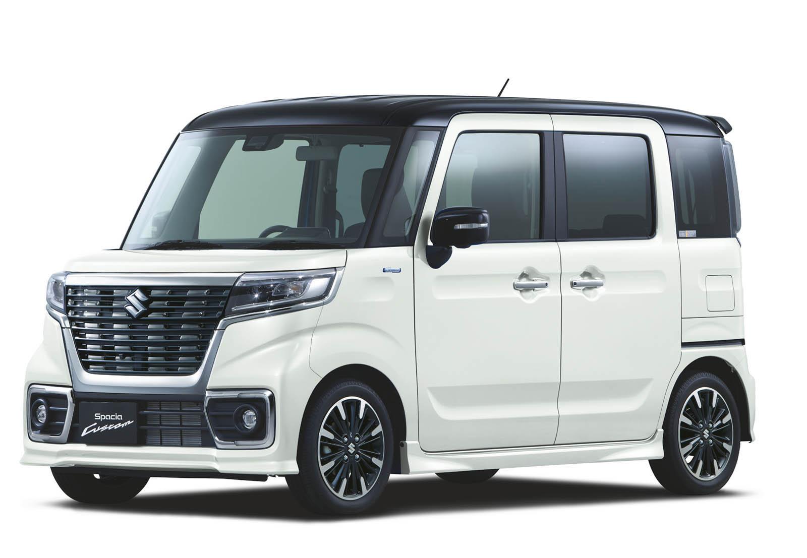 Suzuki Spacia 2018 (17)