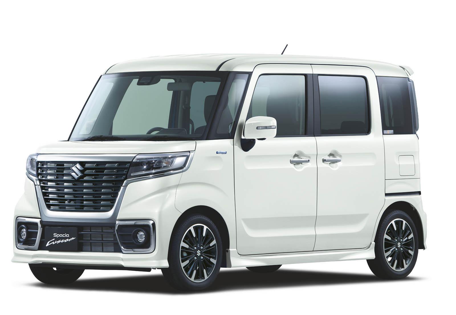 Suzuki Spacia 2018 (18)