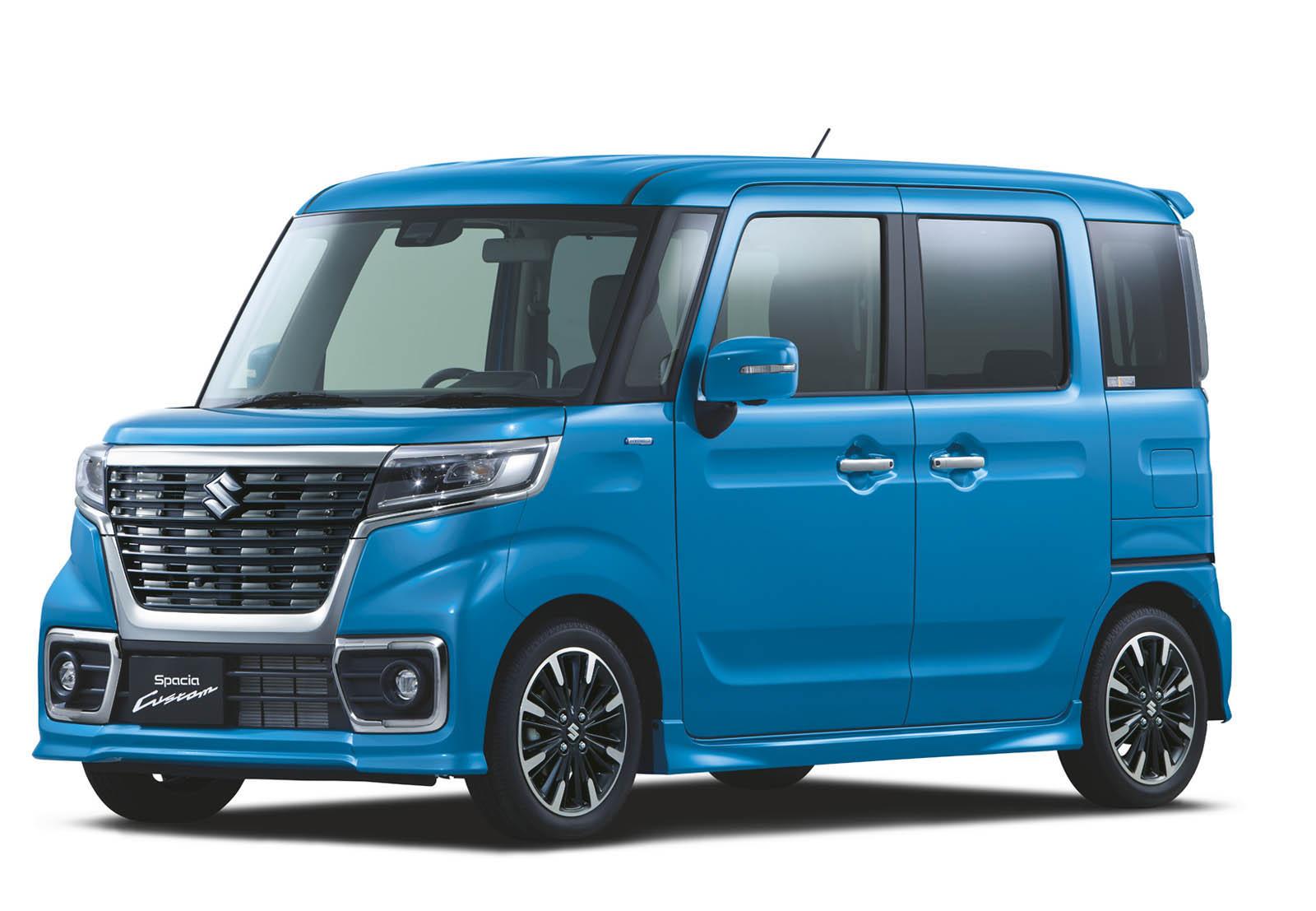 Suzuki Spacia 2018 (21)