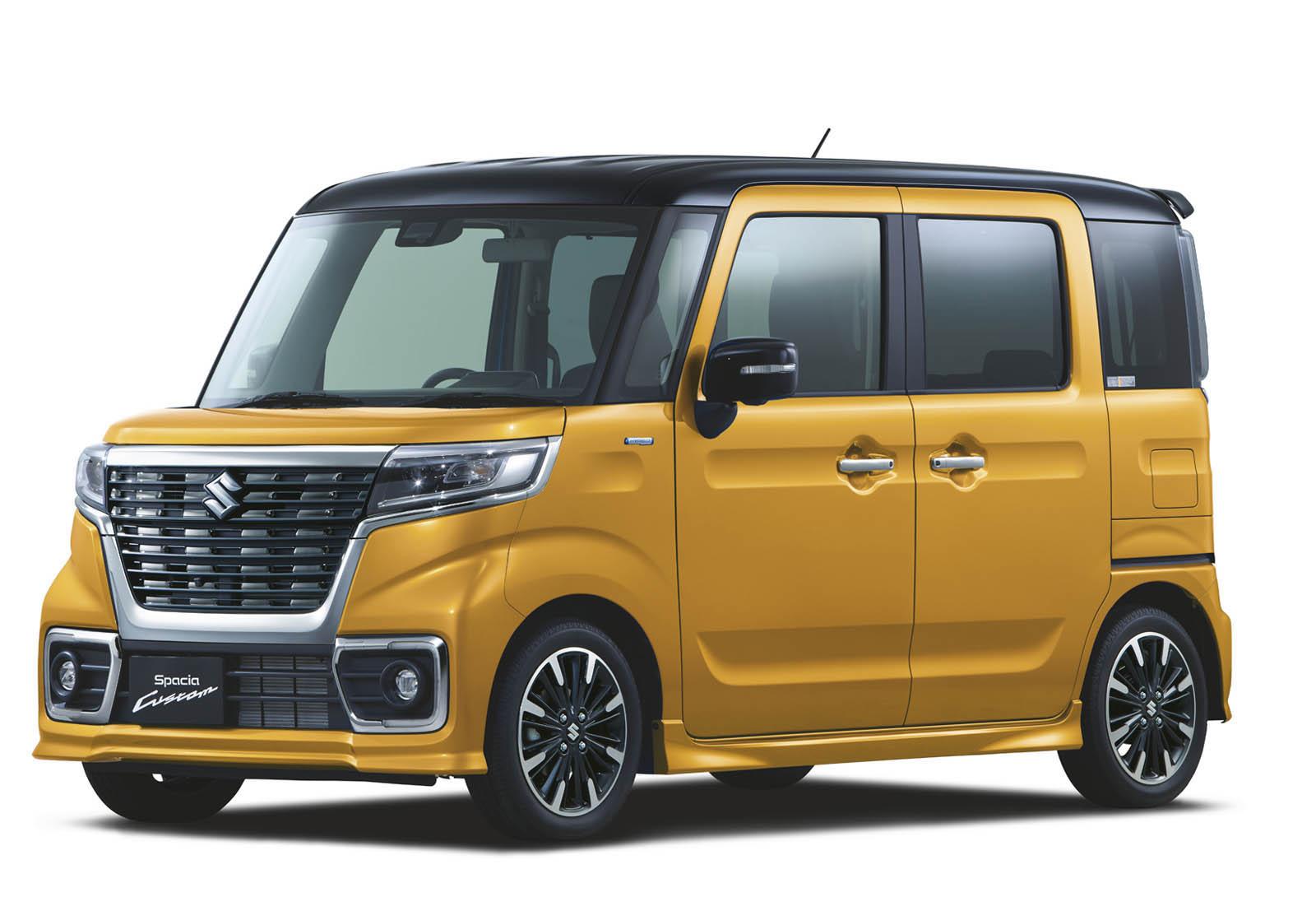 Suzuki Spacia 2018 (22)