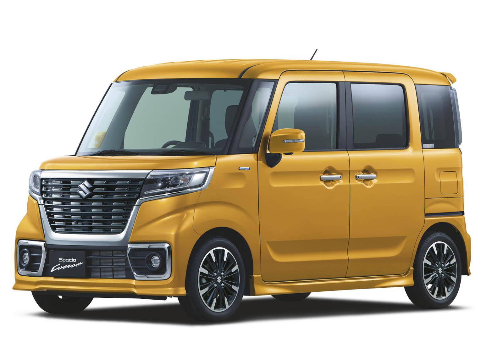 Suzuki Spacia 2018 (23)