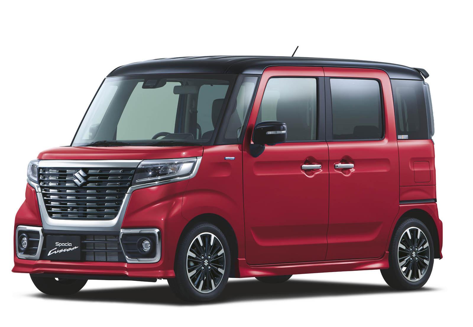 Suzuki Spacia 2018 (25)