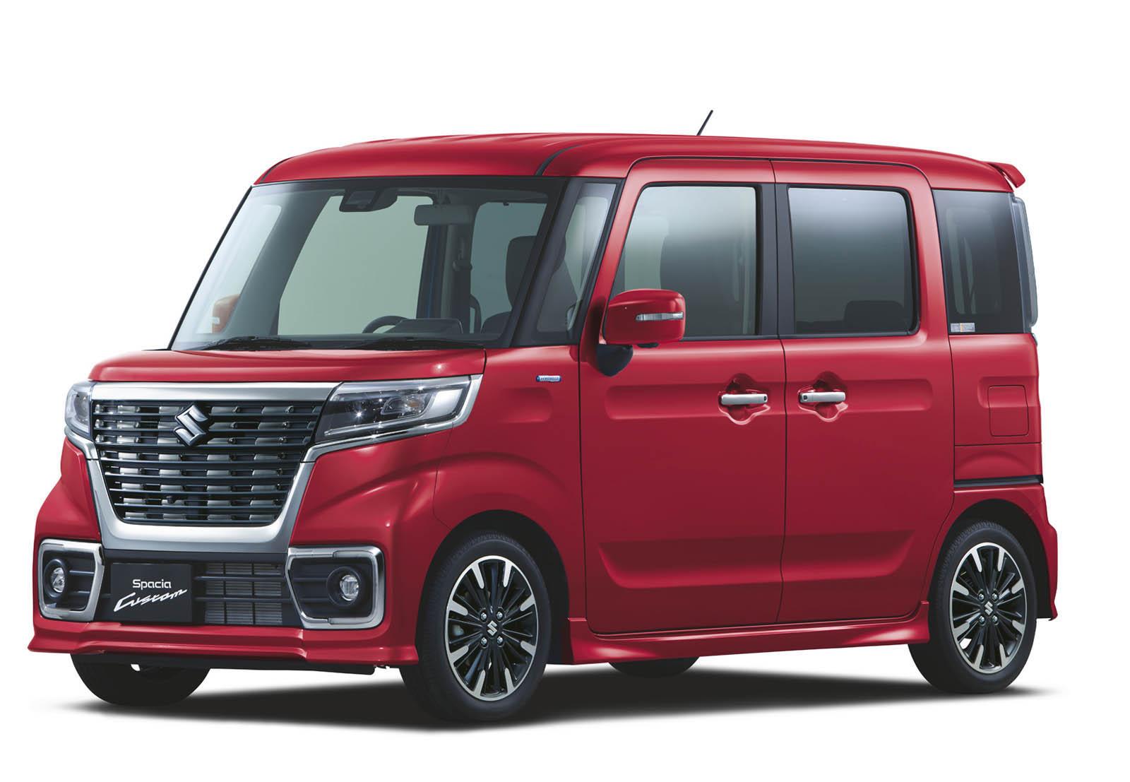 Suzuki Spacia 2018 (26)