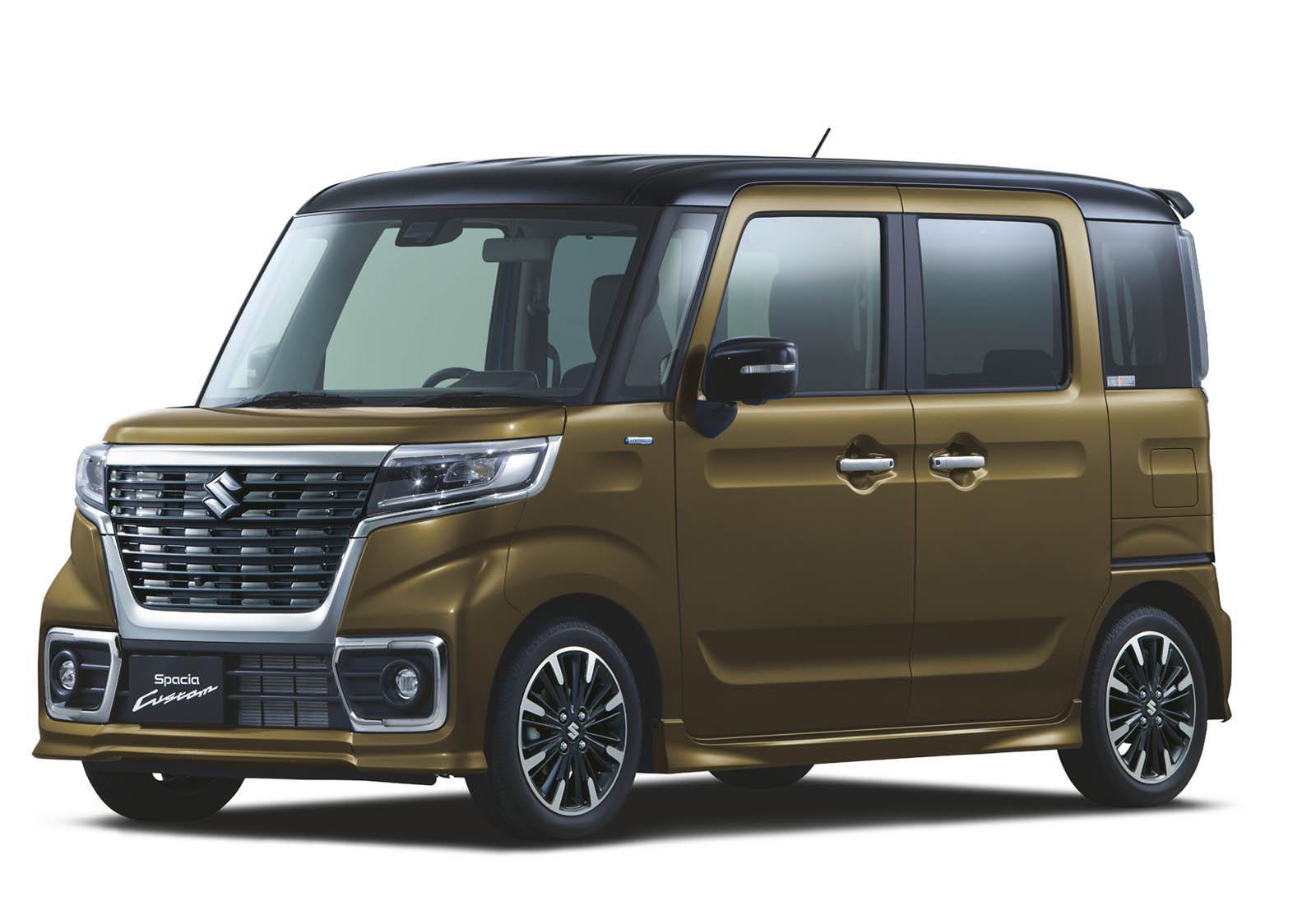 Suzuki Spacia 2018 (27)