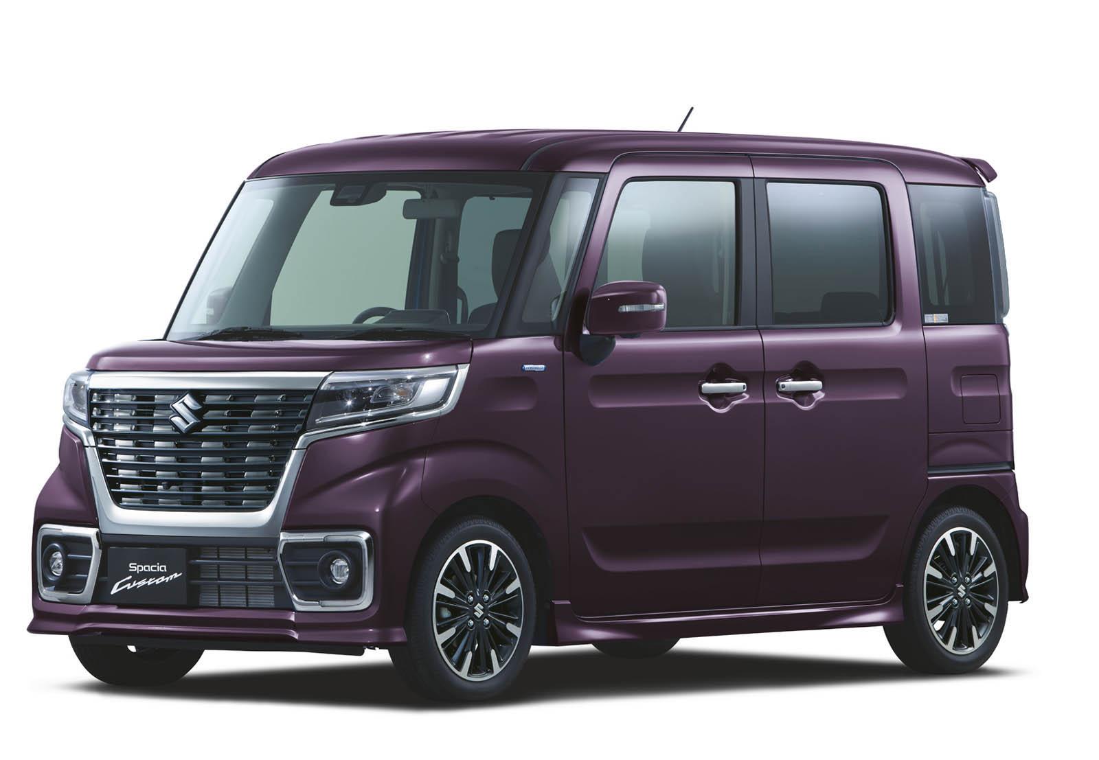 Suzuki Spacia 2018 (29)