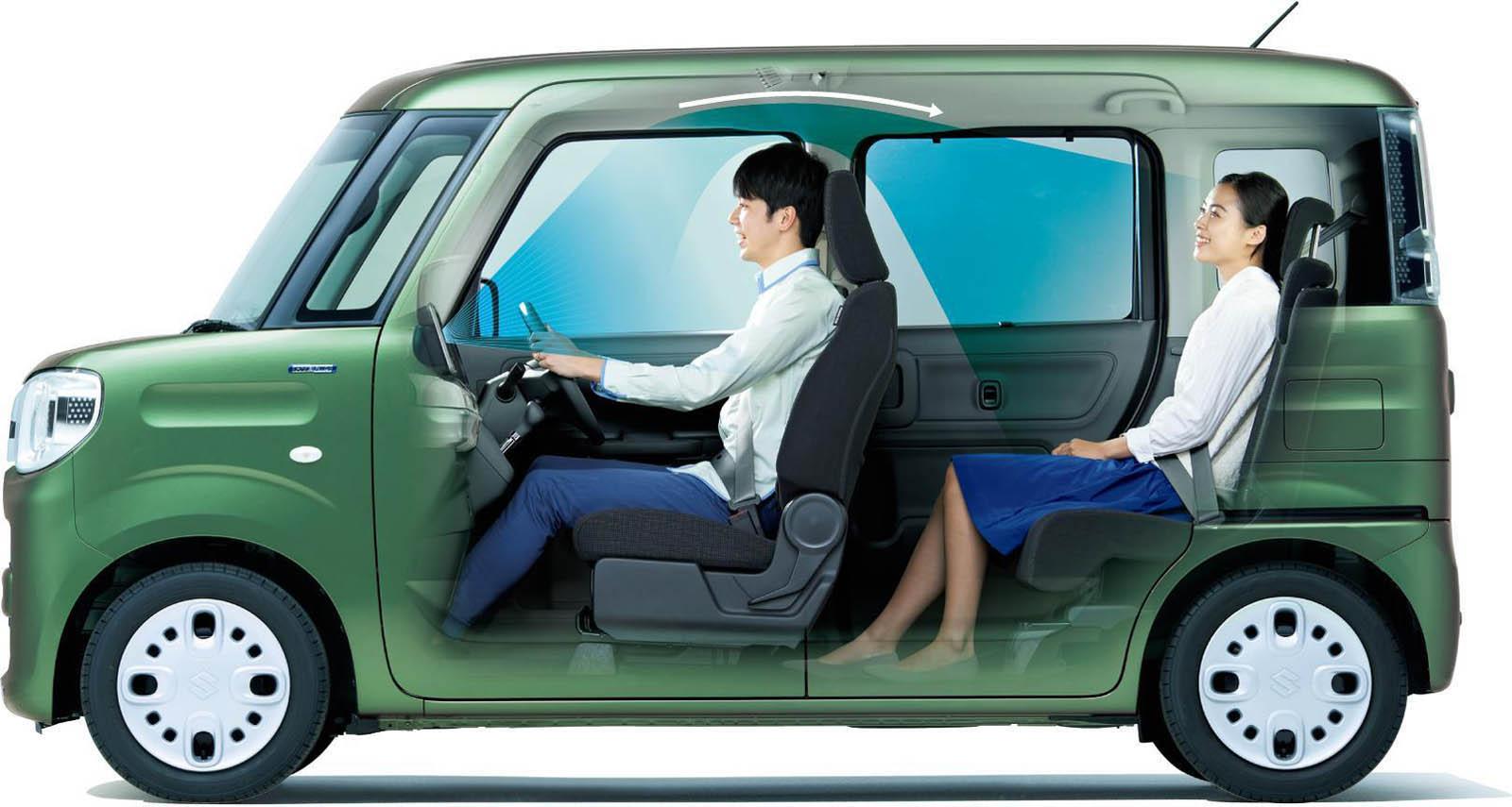 Suzuki Spacia 2018 (50)