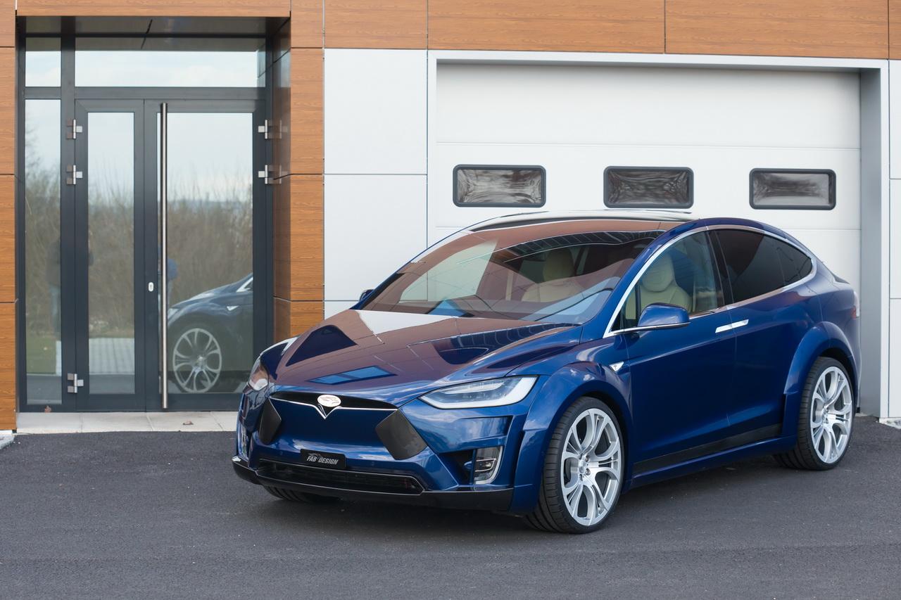Tesla Model X by FAB Design (1)