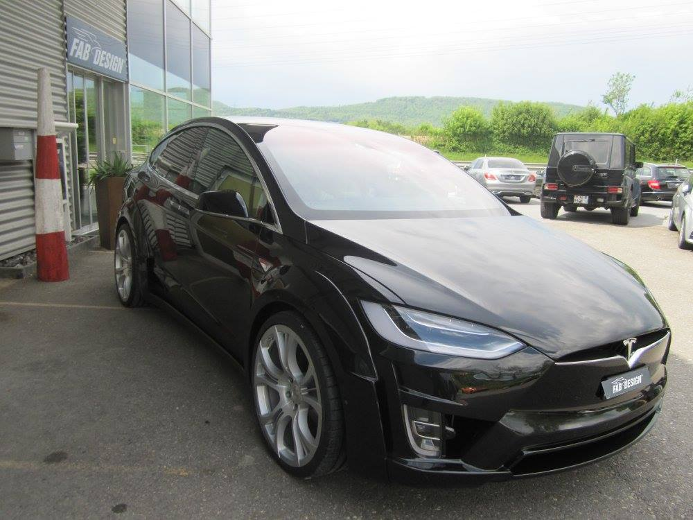 Tesla Model X by FAB Design (7)