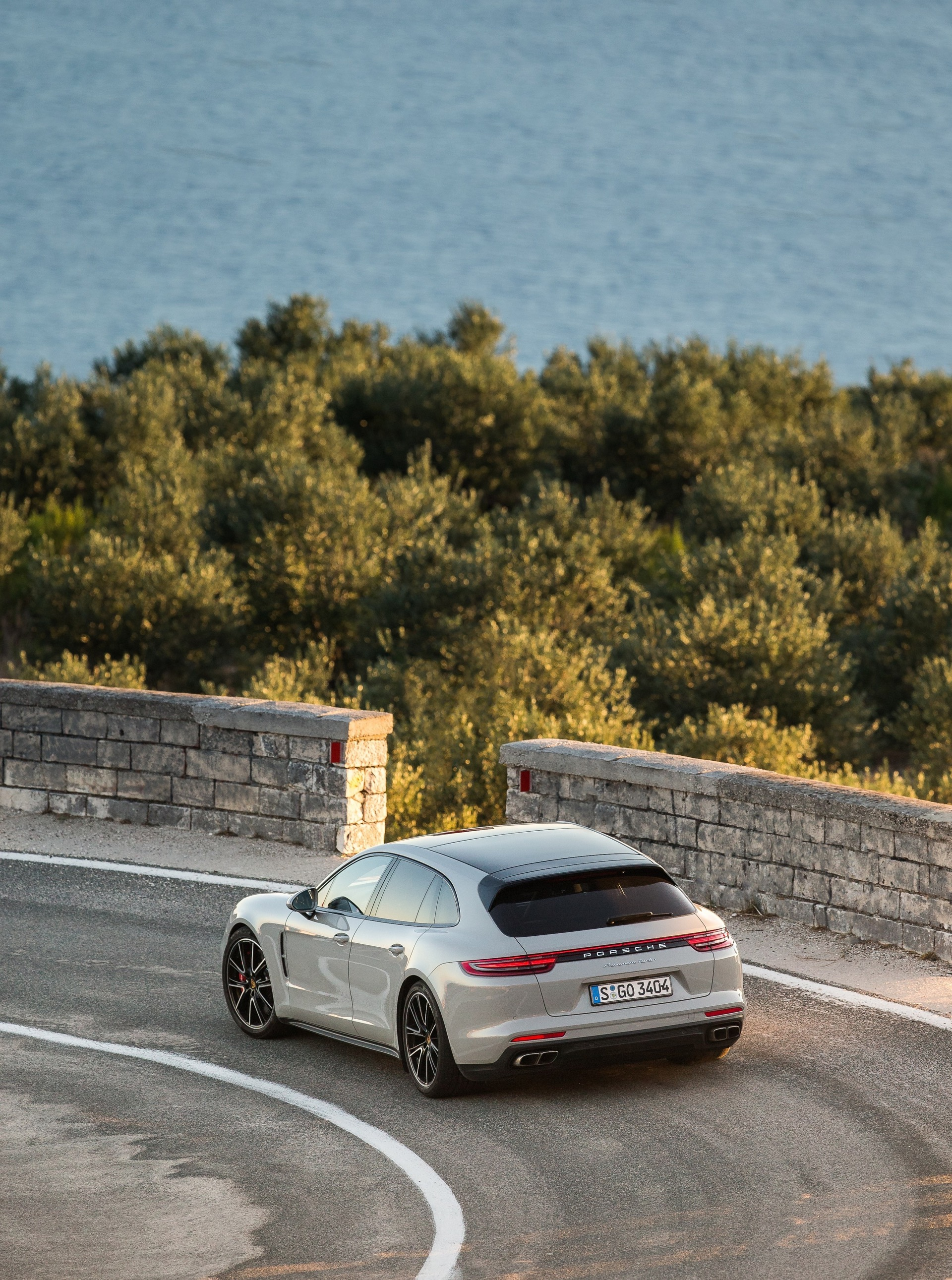 Porsche Panamera Sport Turismo regional press launch event. Croatia 2017. Photos by KL-Photo.com
