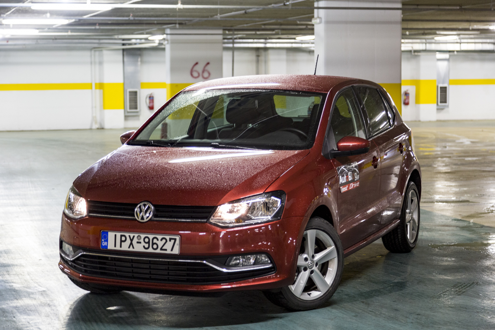 test drive vw polo 1 4 diesel tdi 105hp. Black Bedroom Furniture Sets. Home Design Ideas