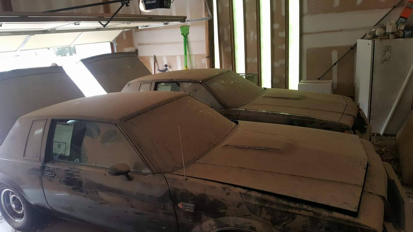 Two Old Buick Grand Nationals barnfind (10)
