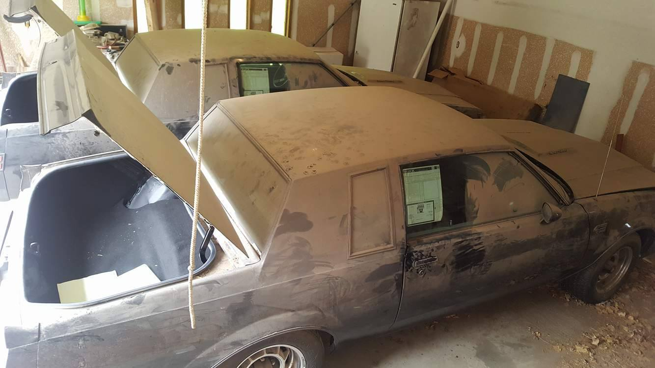 Two Old Buick Grand Nationals barnfind (2)