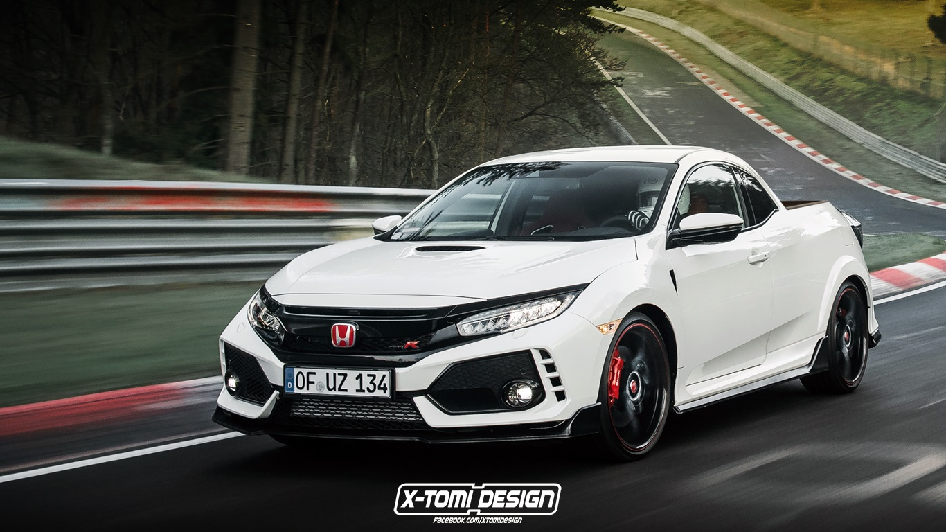 Honda Civic Type R Pickup2