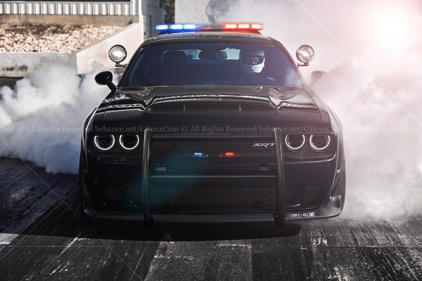dodge-demon-rendered-as-convertible-and-police-car_2