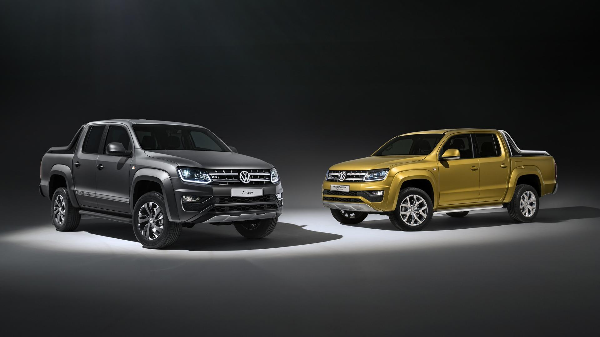 Volkswagen Amarok Aventura Exclusive Concept and Amarok Dark Label Special Edition (1)