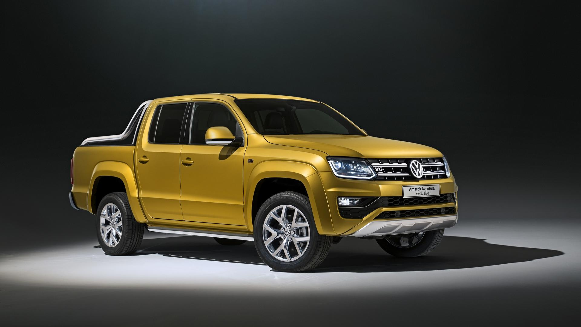 Volkswagen Amarok Aventura Exclusive Concept and Amarok Dark Label Special Edition (2)