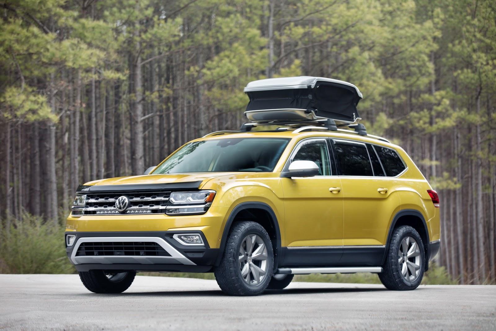 Volkswagen Atlas Weekend Edition Concept (1)