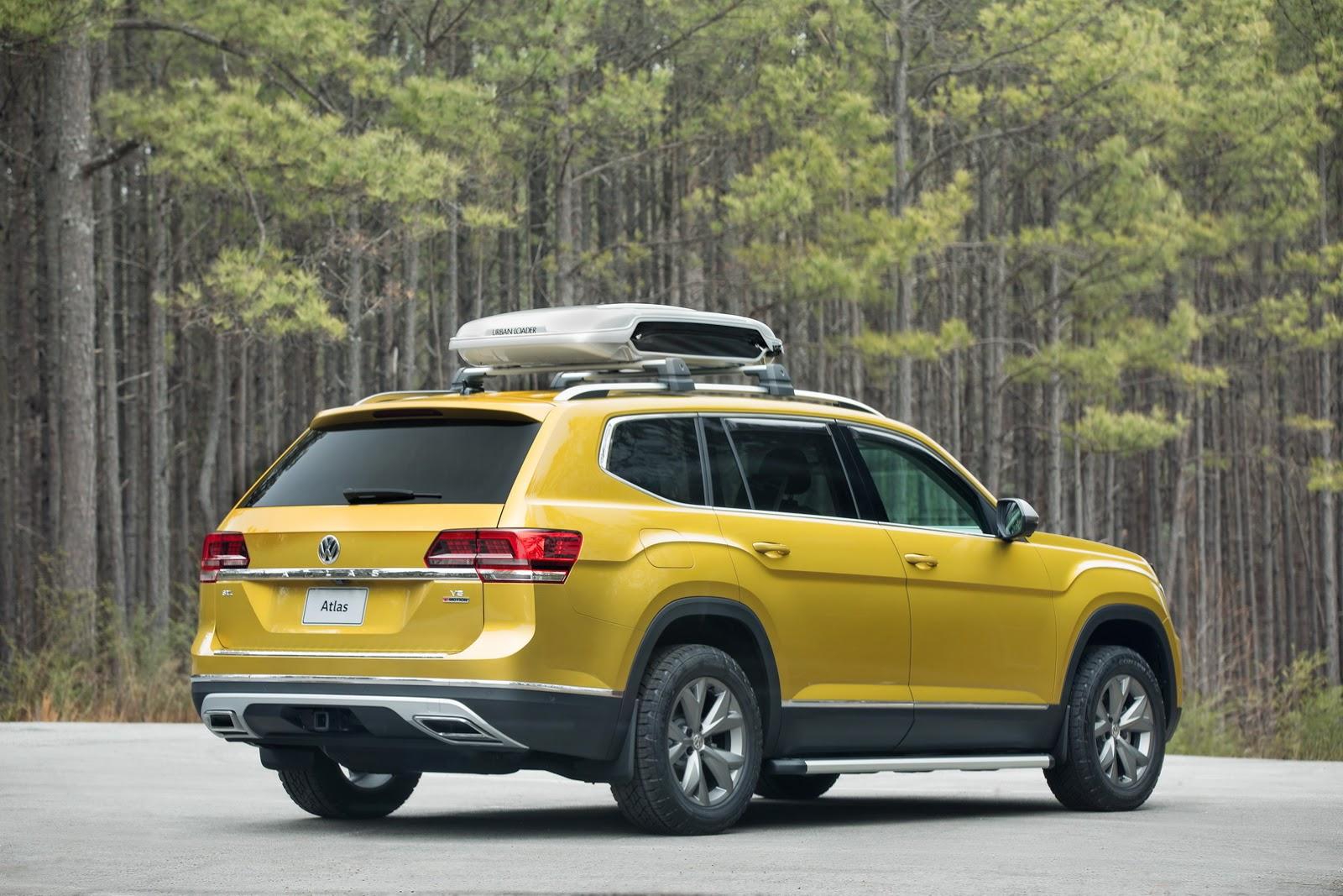 Volkswagen Atlas Weekend Edition Concept (2)