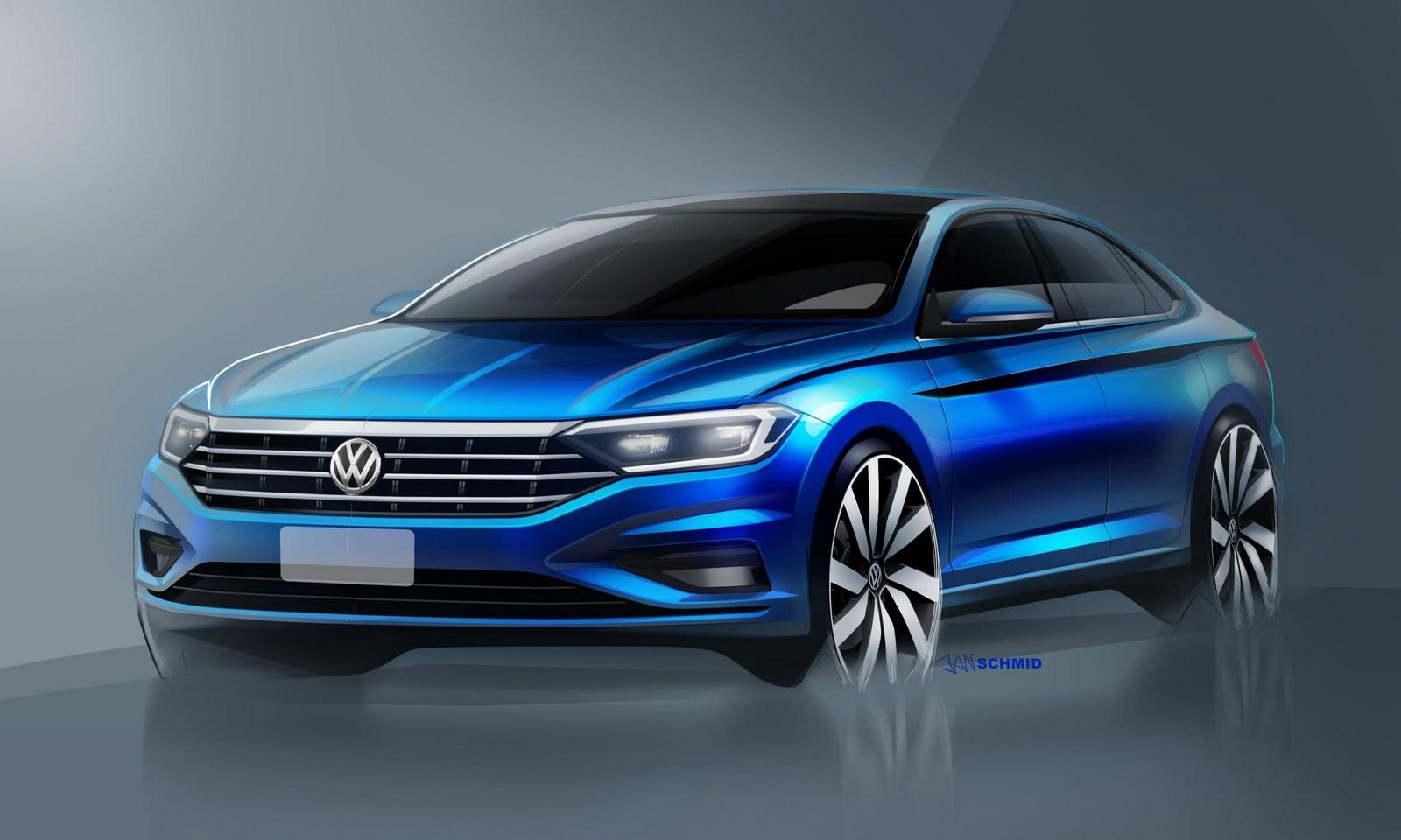 Volkswagen Jetta 2018 schetses (1)