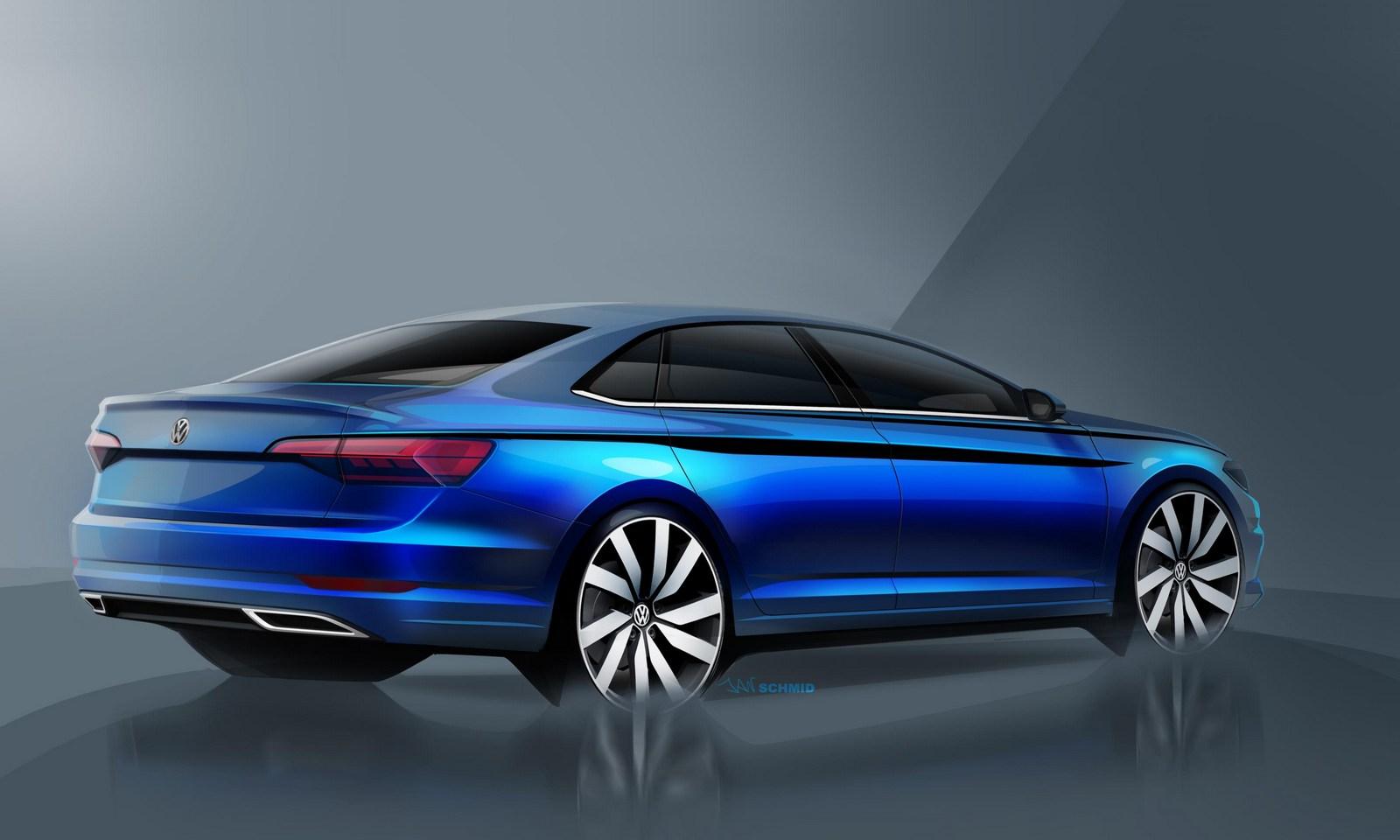 Volkswagen Jetta 2018 schetses (2)