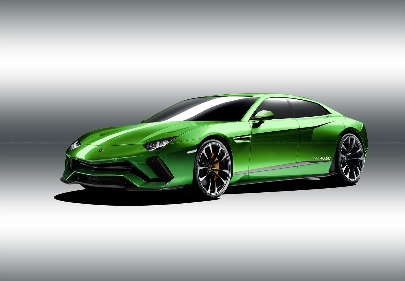 Lamborghini Estoque renderings (1)