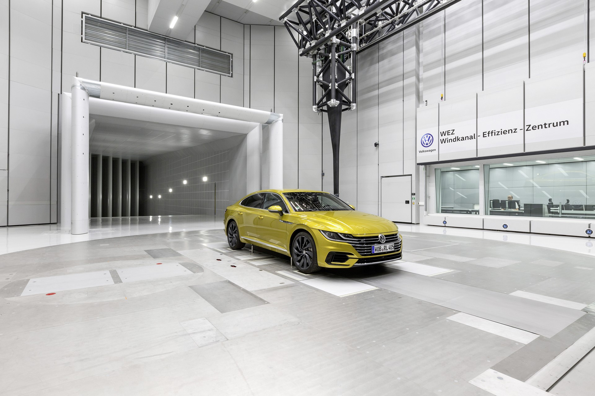 Volkswagen Wind Tunnel Efficiency Center (11)