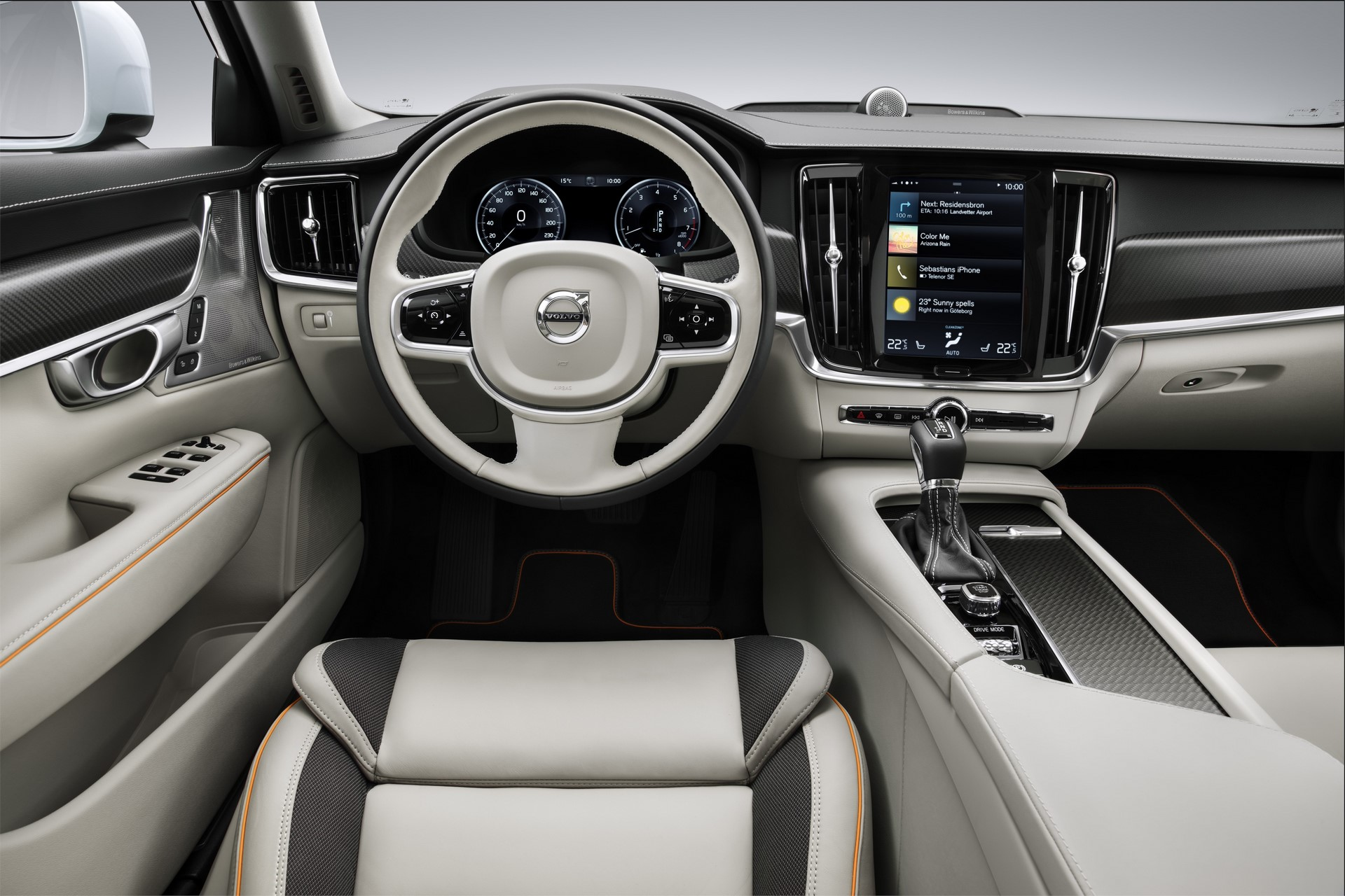 Volvo V90 Cross Country Volvo Ocean Race interior