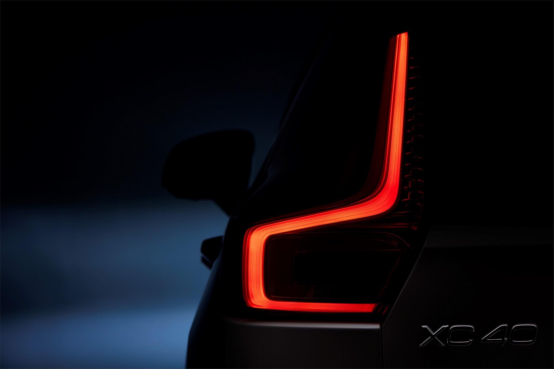 New Volvo XC40 - exterior detail