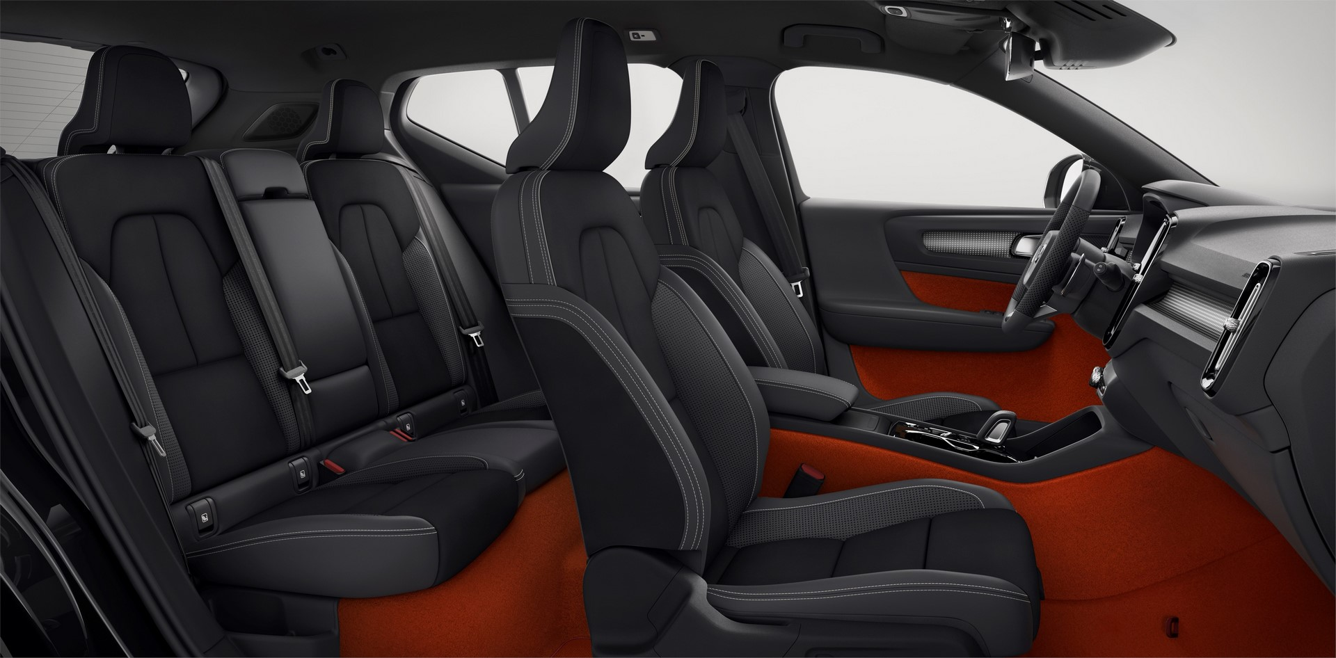 New Volvo XC40 - interior