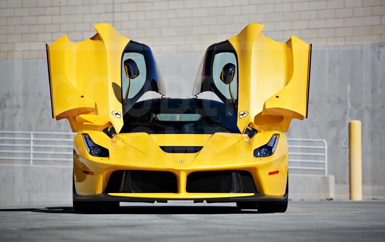 Yellow LaFerrari for sale (1)