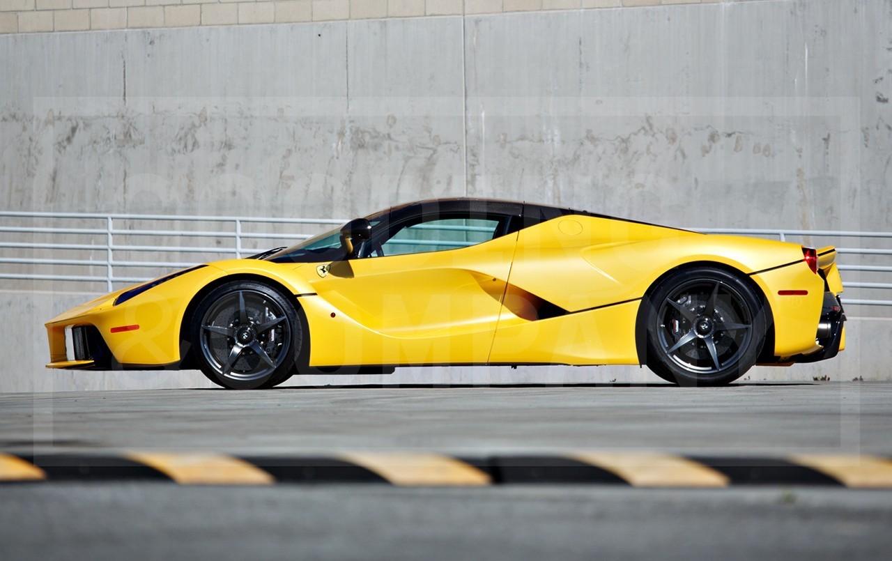 Yellow LaFerrari for sale (2)