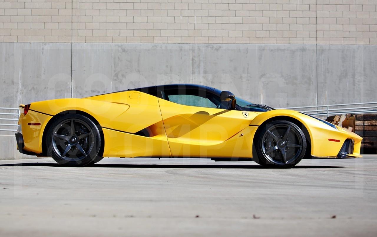 Yellow LaFerrari for sale (3)