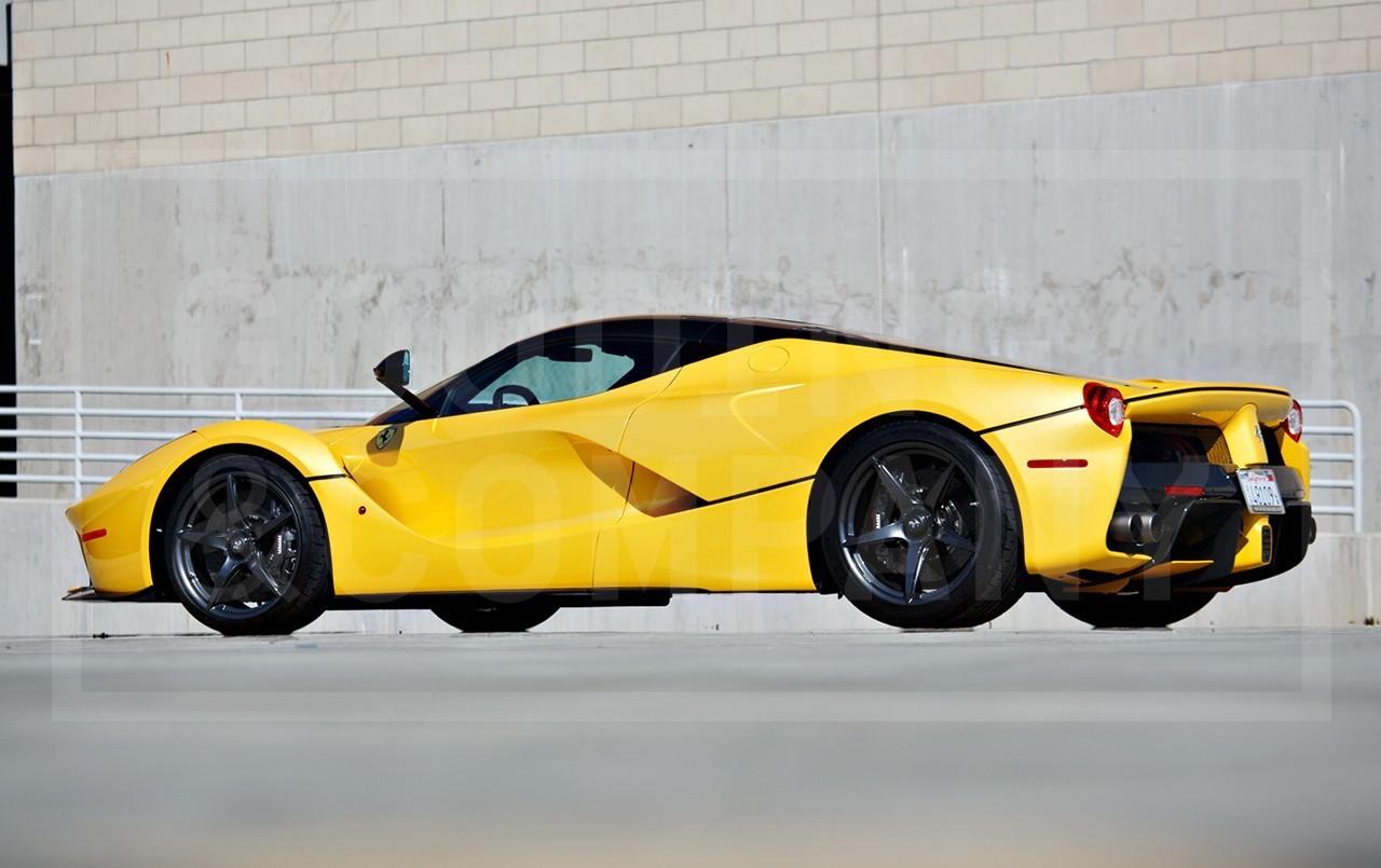 Yellow LaFerrari for sale (4)