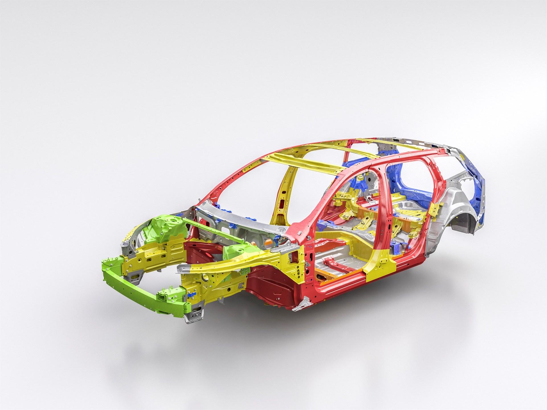 New Volvo V60 safety cage