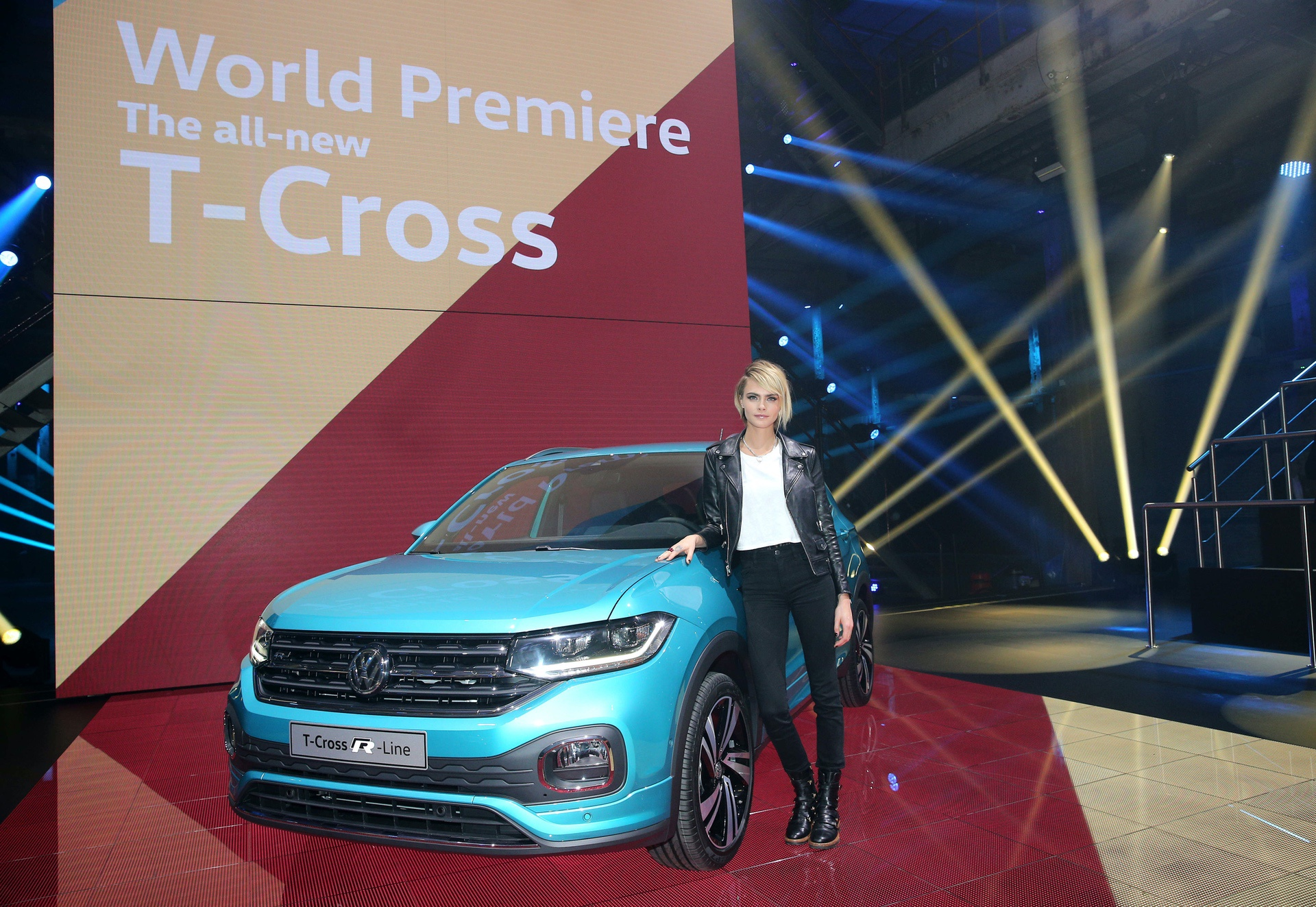 World Premiere of the all-new T-Cross: Volkswagen expands its family of SUVs