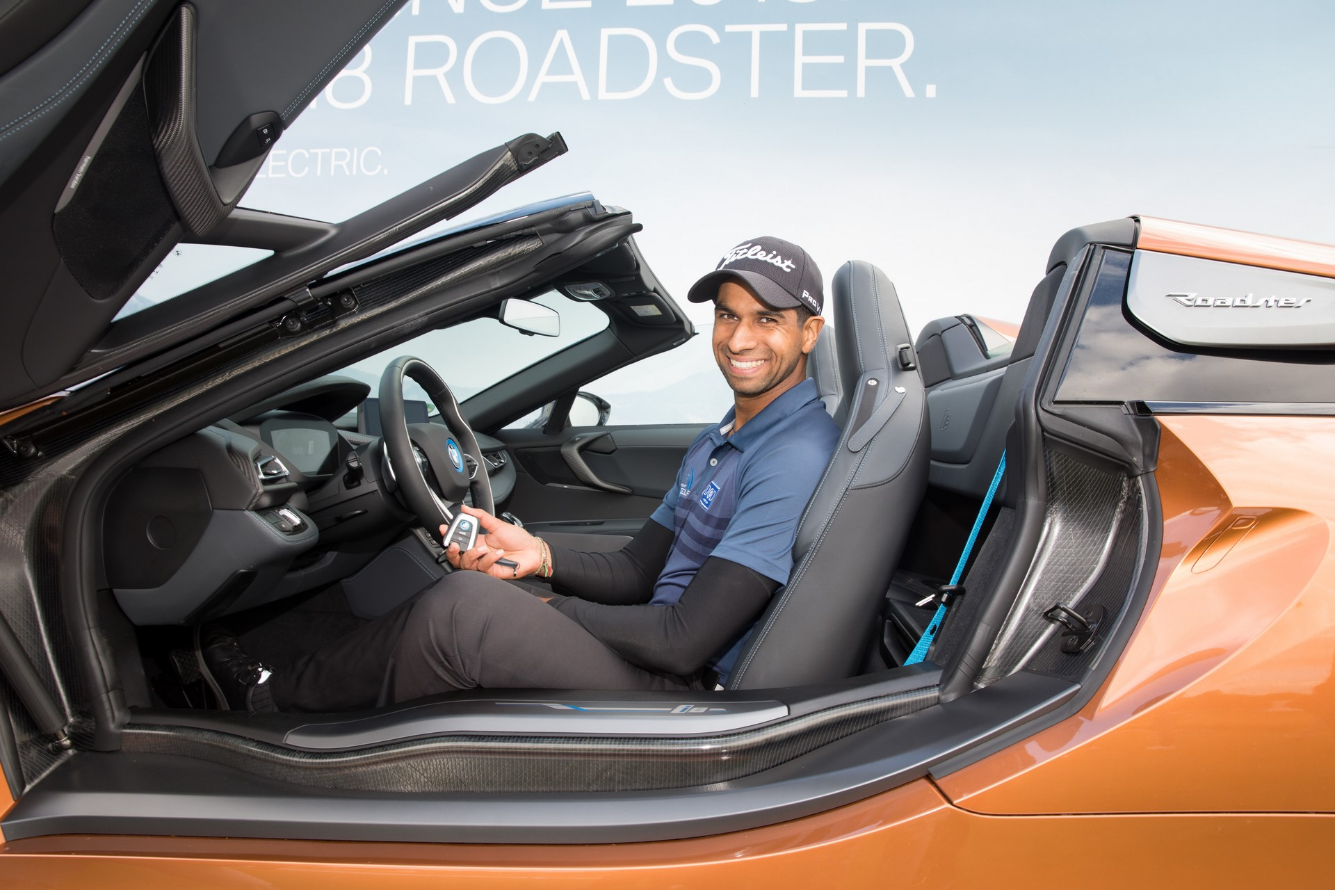 Aaron Rai win BMW i8 Roadster (1)