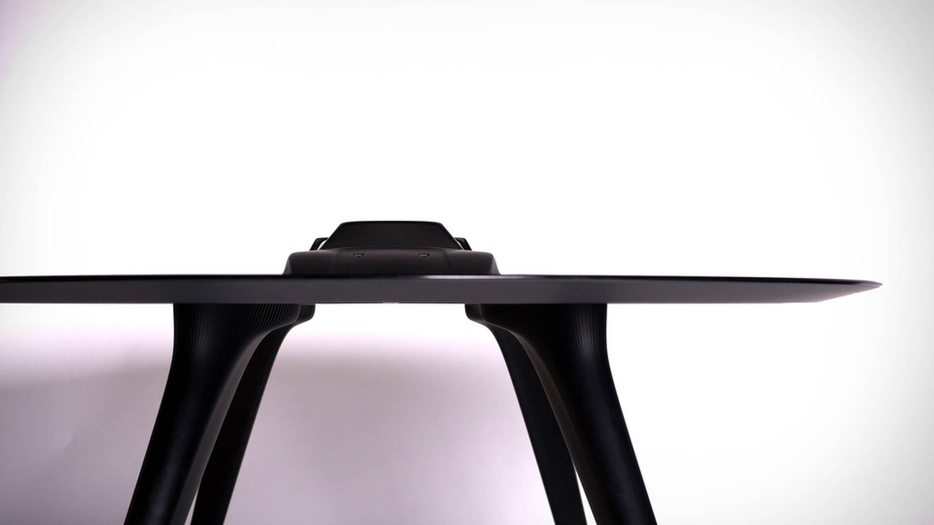 Aluminum coffee table Ferrari F40 (1)