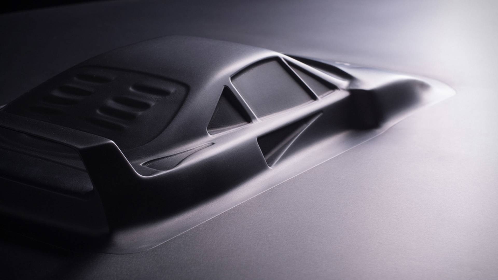 Aluminum coffee table Ferrari F40 (2)