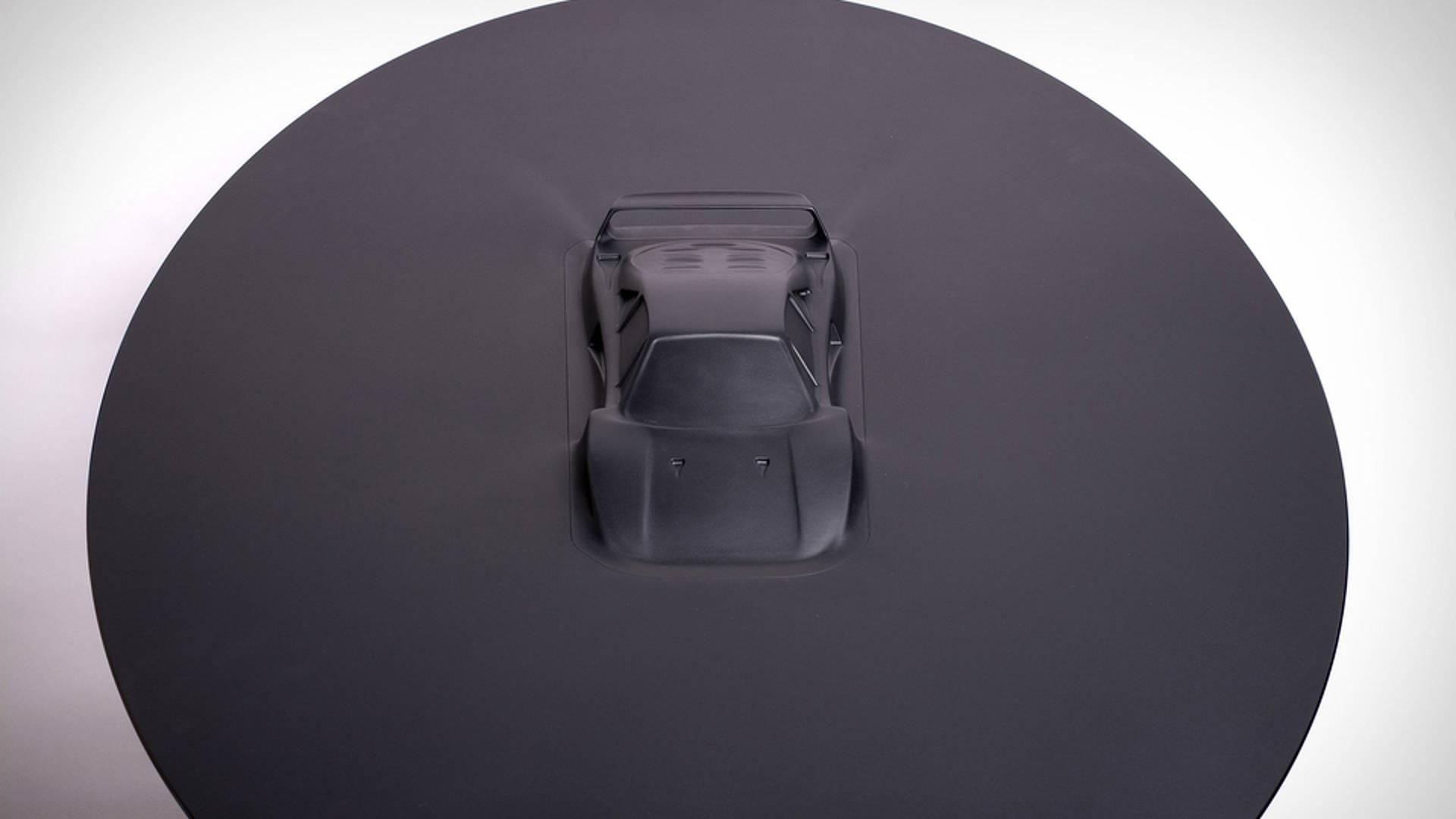 Aluminum coffee table Ferrari F40 (3)
