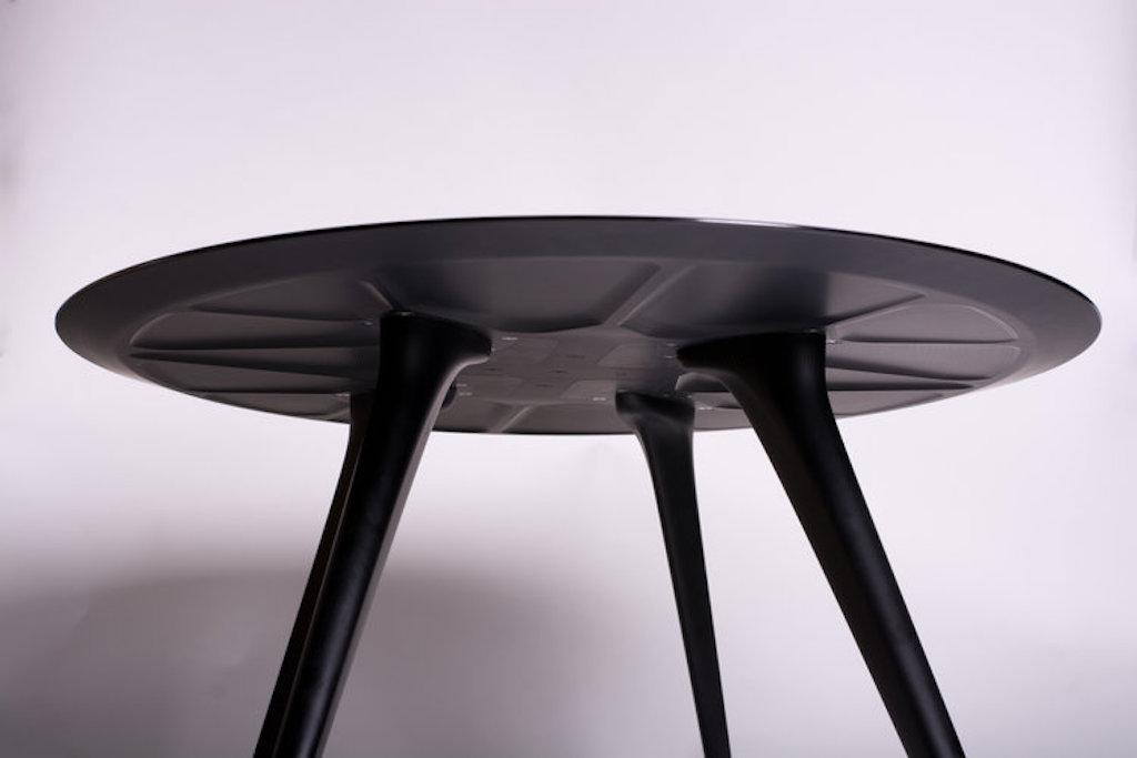 Aluminum coffee table Ferrari F40 (5)