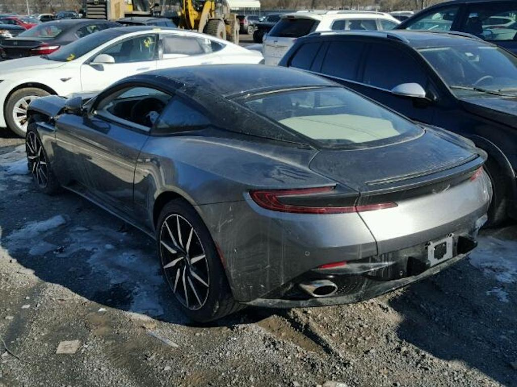 Aston Martin DB11 crashed for sale (3)