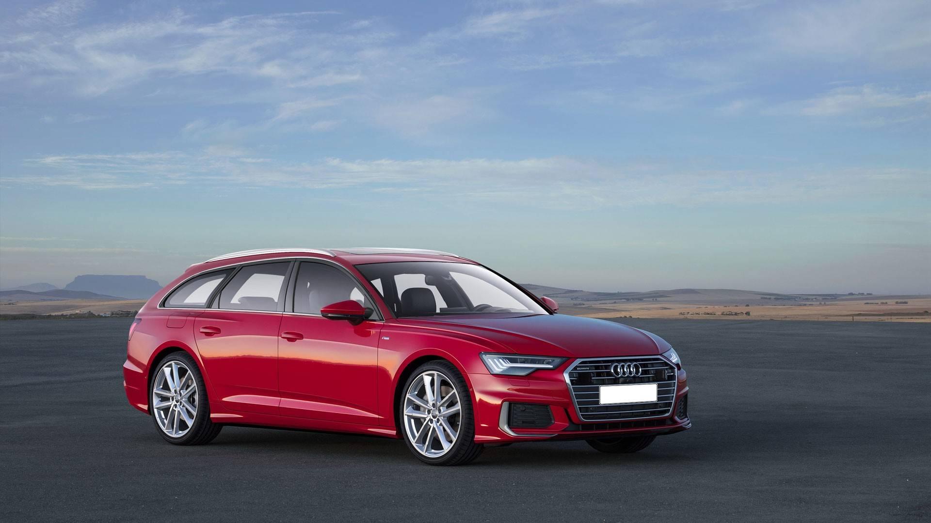 Audi A6 Avant, A6 Allroad RS6 Avant Renderings (1)
