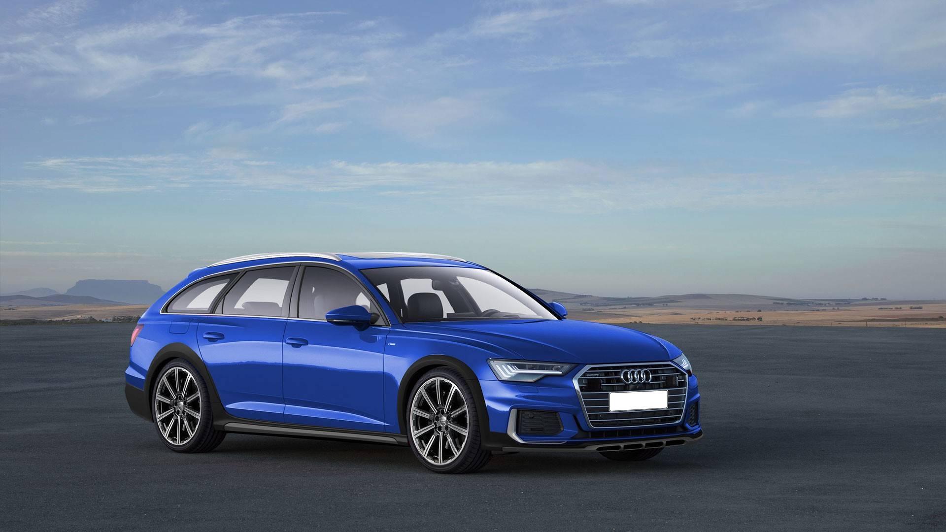 Audi A6 Avant, A6 Allroad RS6 Avant Renderings (3)