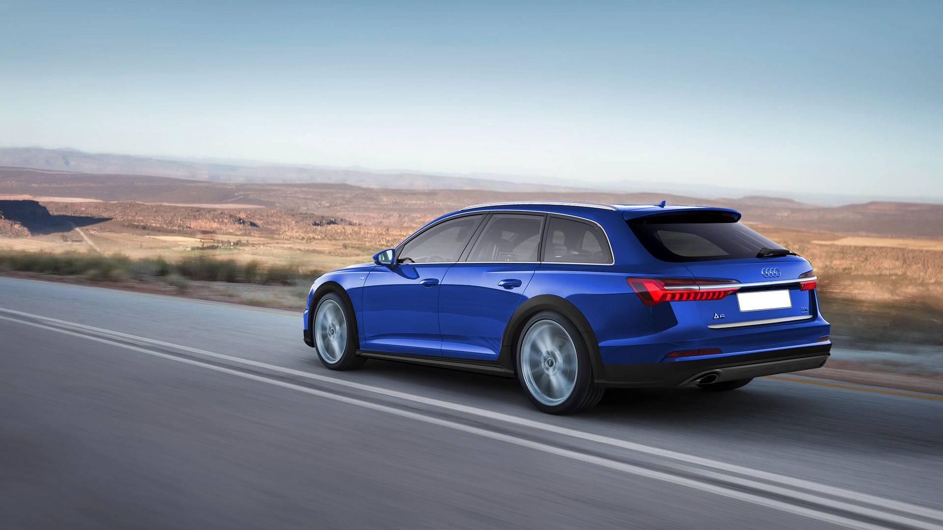 Audi A6 Avant, A6 Allroad RS6 Avant Renderings (4)